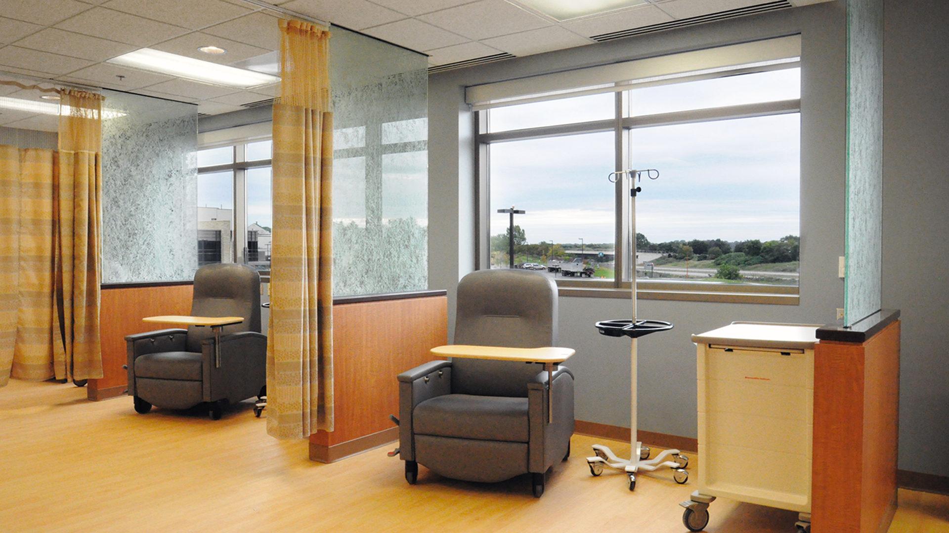Fairview Ridges Specialty Care Center Burnsville Interior Cancer Treatment Suite