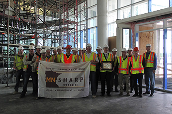 MNSHARP Project Safety Achievement