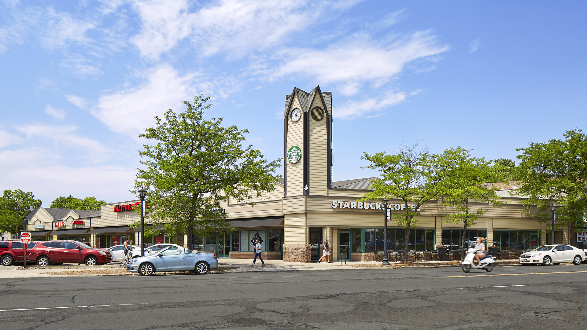 Kenwood Crossing Retail Shopping Center Minneapolis MN exterior view