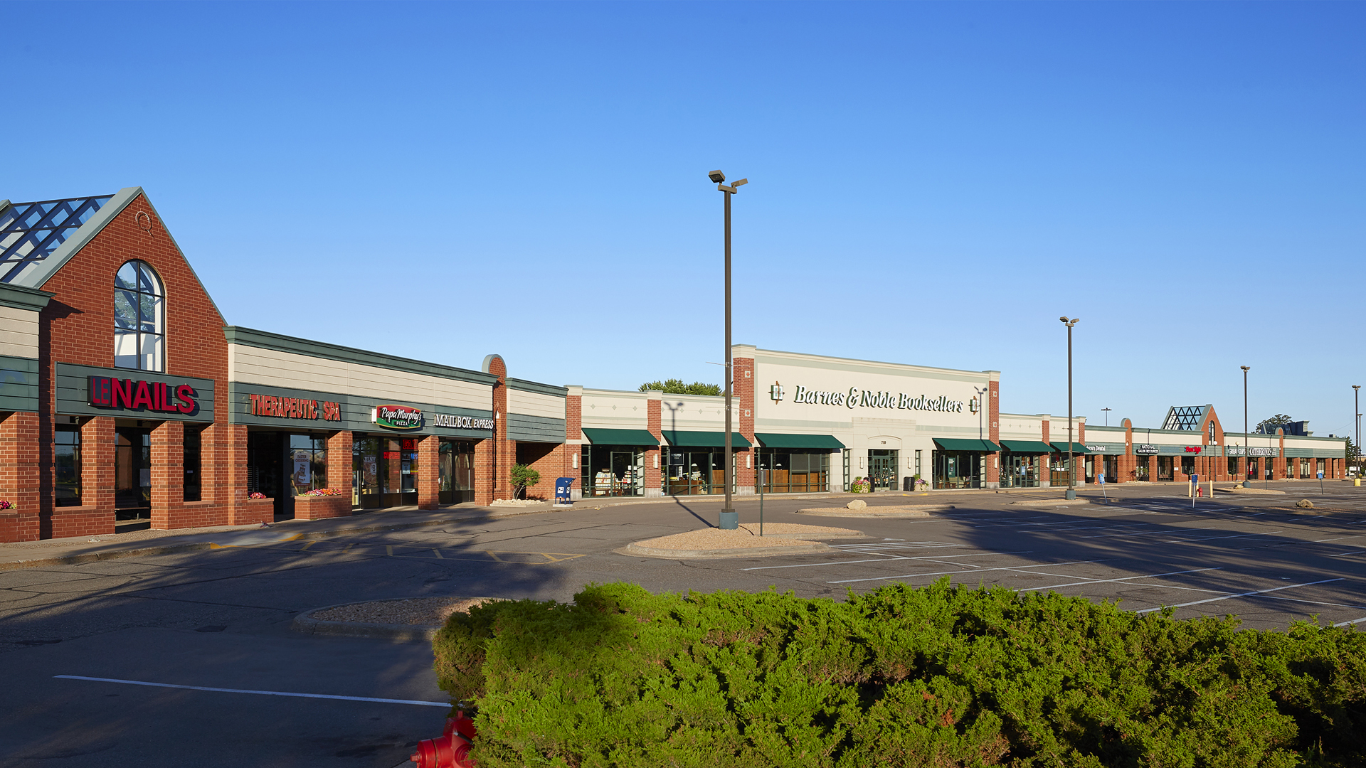 Northcourt Commons Retail Shopping Center Blaine MN exterior view