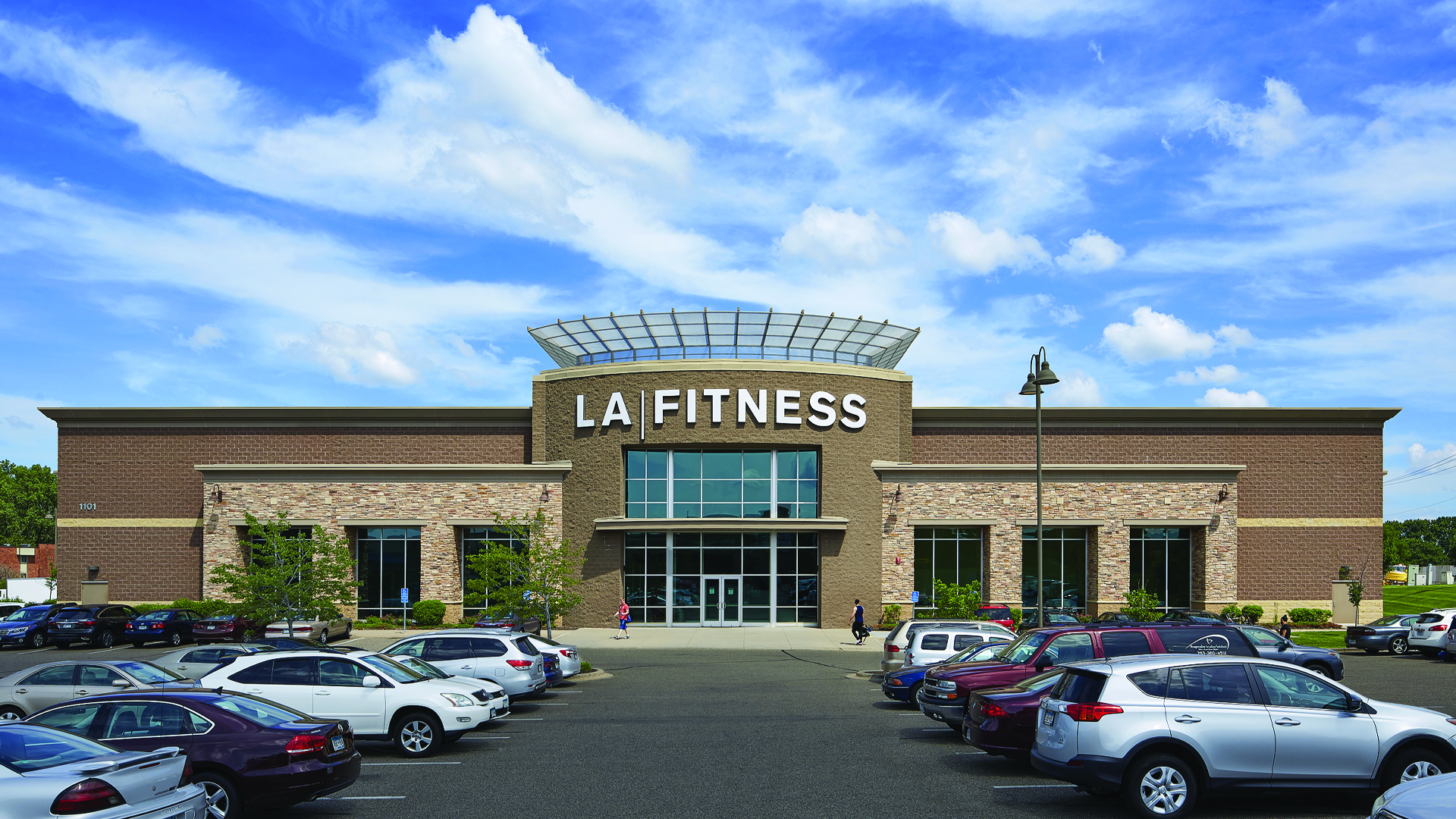 Brighton Village Shopping Center New Brighton MN LA Fitness Front Elevation