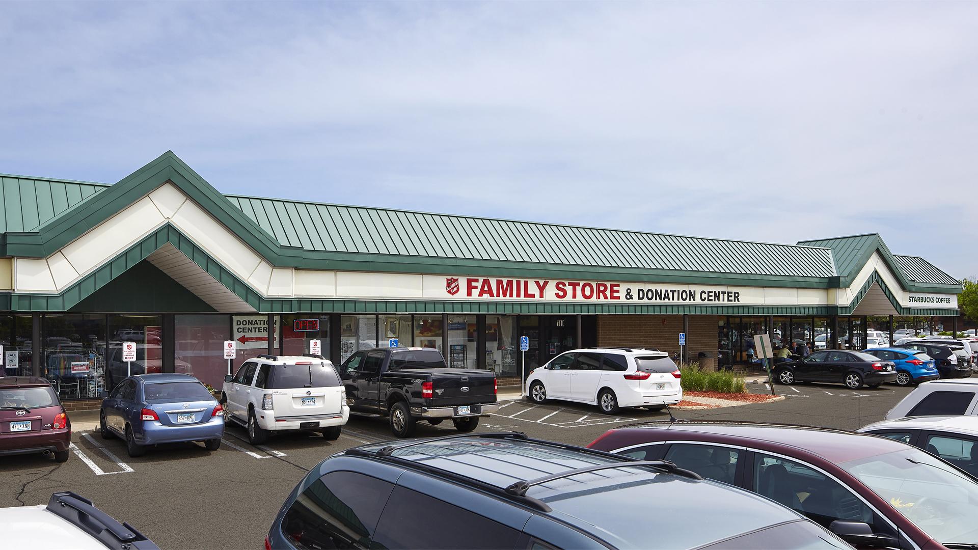 Clover Retail Shopping Center eastern half of strip mall