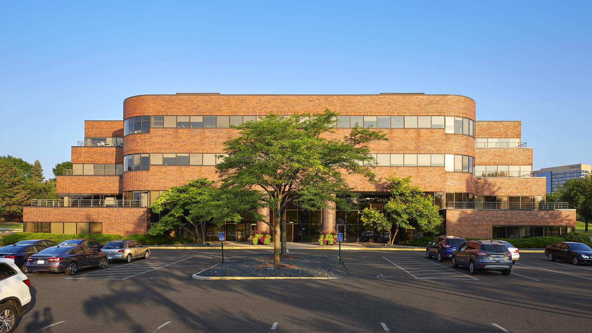 Primetech Office Center I Eden Prairie MN Office building exterior front elevation