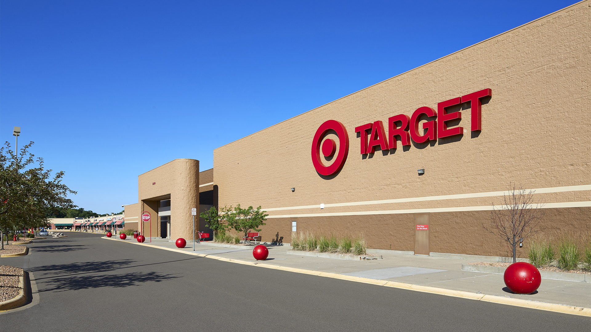Springbrook Mall Retail Coon Rapids MN anchor store Target