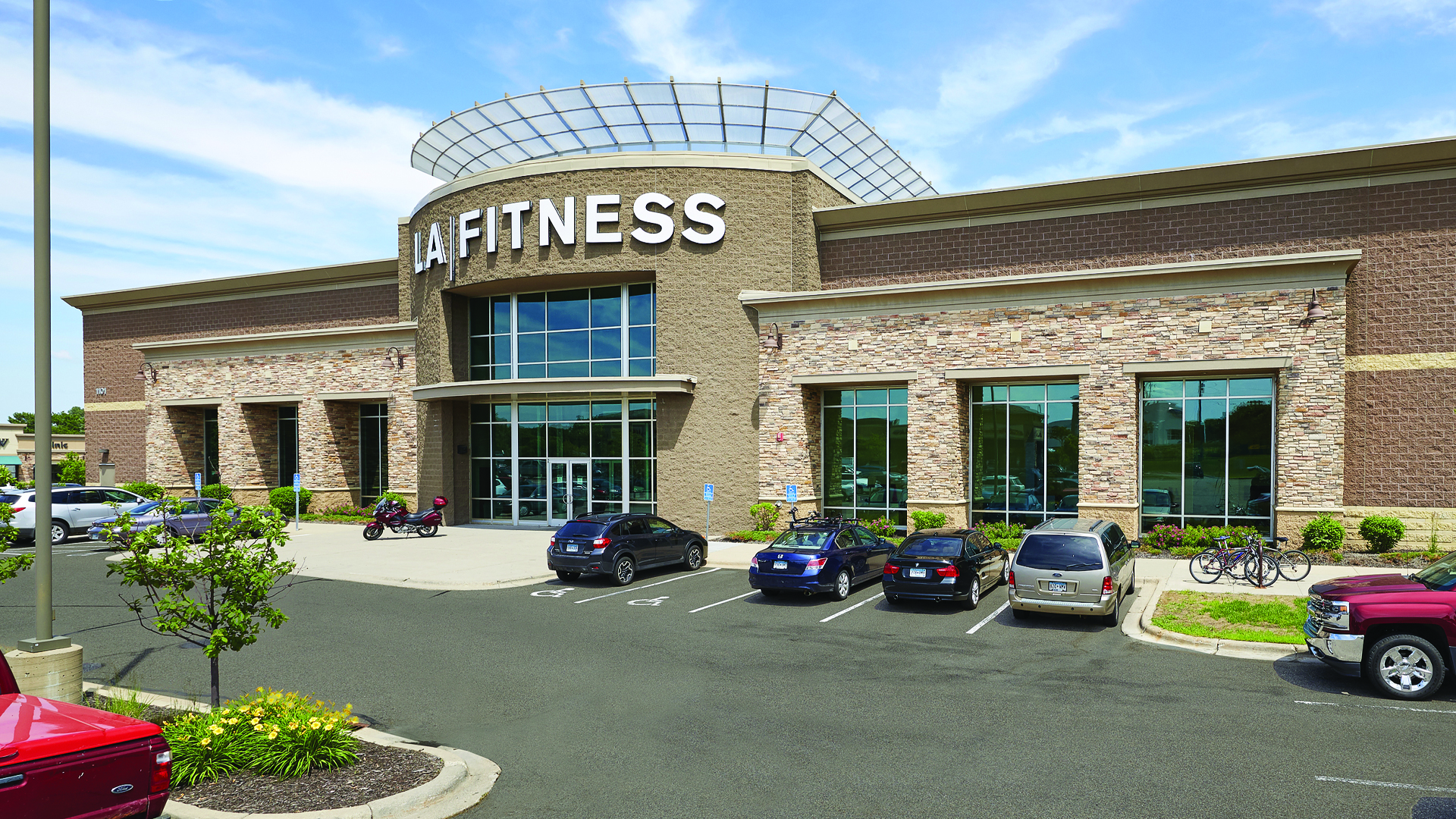 Brighton Village Shopping Center New Brighton MN LA Fitness