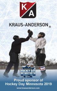 KA proud sponsor Hockey Day Minnesota 2019