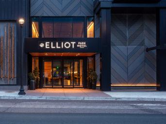 Elliot Park Hotel entrance