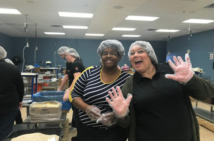 volunteer at Feed My Starving Children