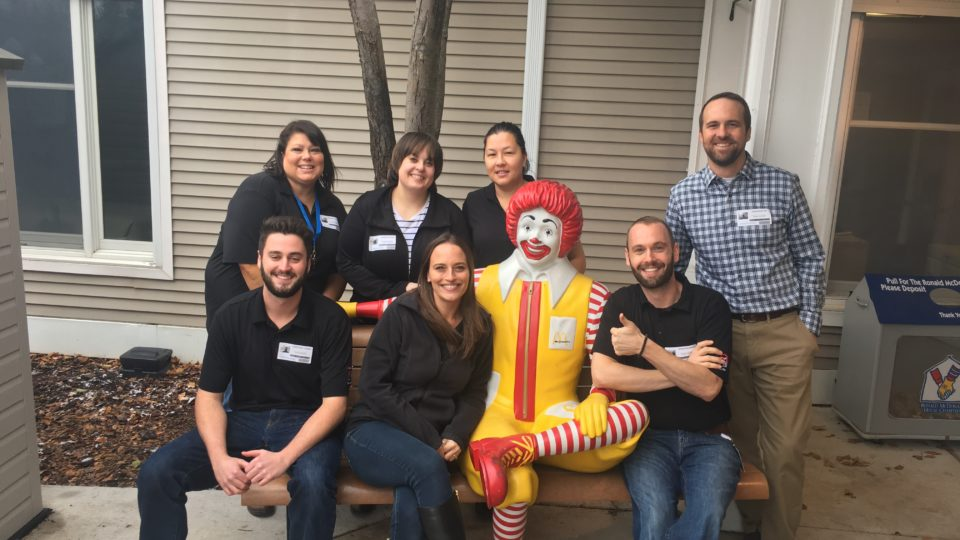 group volunteer at Ronald McDonald House