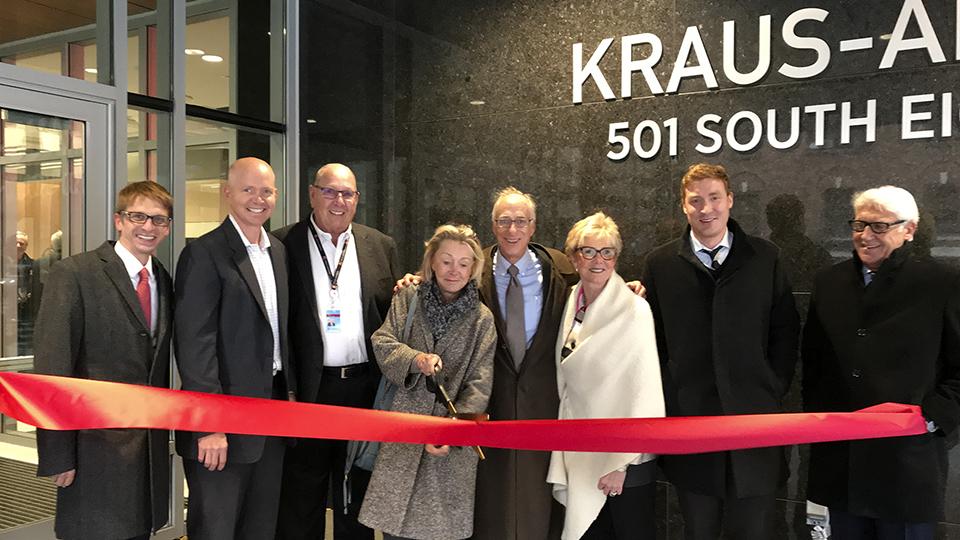 2017 ribbon cutting KA ofice Dan Engelsma
