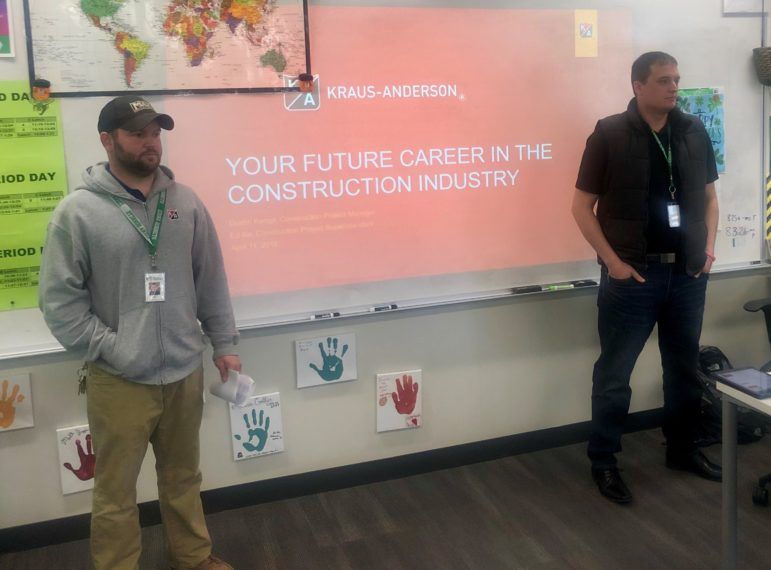 KA Project Superintendent Ed Illa and Project Manager Dustin Kempf are the face of construction careers.