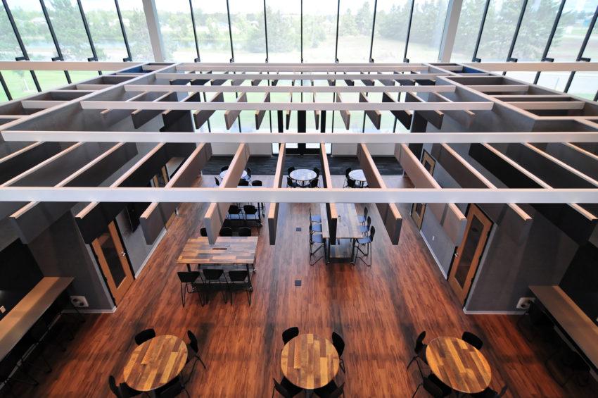 Delta Dental Bemidji Operations Center interior collaborative design