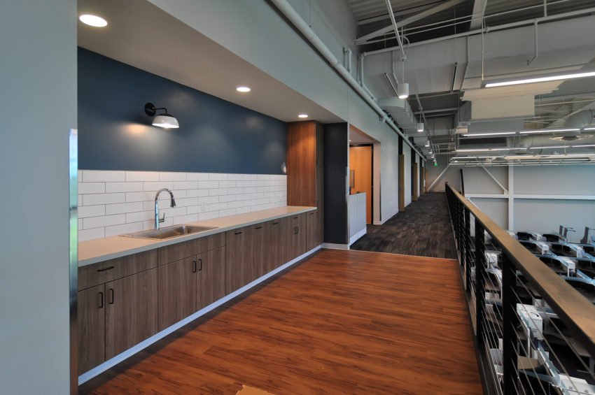 Delta Dental Bemidji Operations mezzanine collaborative design