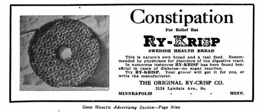 an early ad for Ry-Krisp
