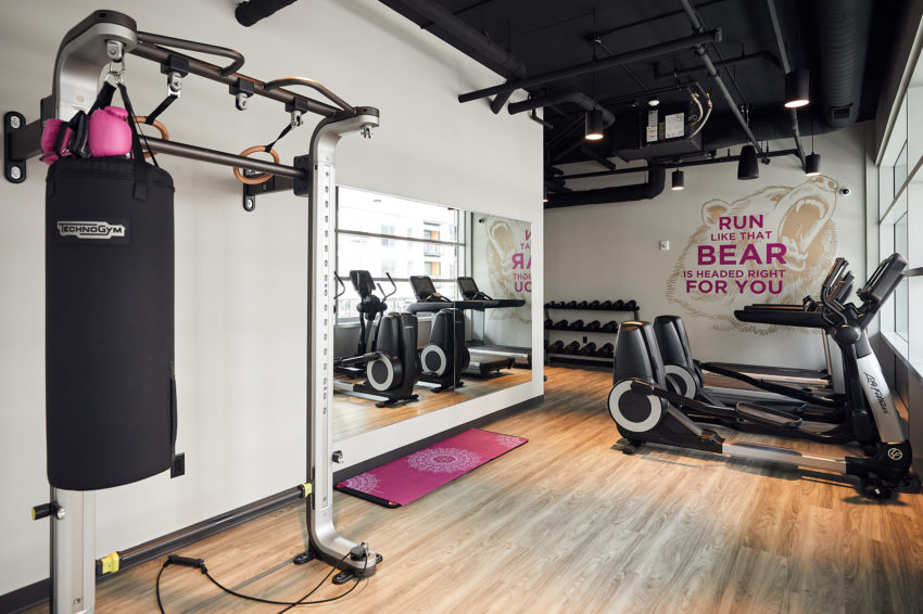 Moxy's fitness studio