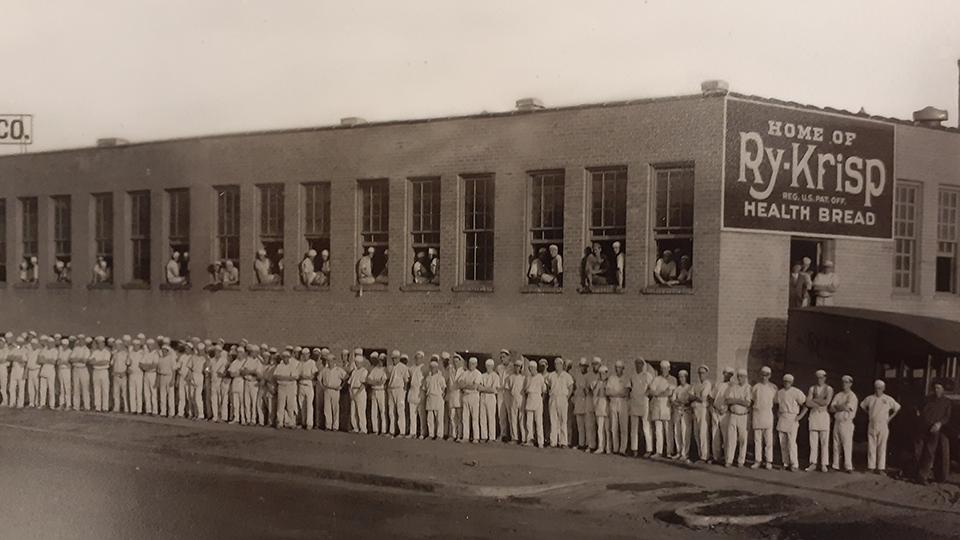 Ry-Krisp building in 1925, Minneapolis