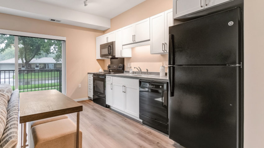 Chamberlain Apartments kitchen