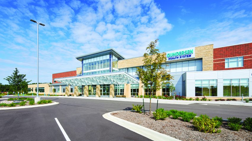 Gundersen Tomah Clinic construction managed by Construction Madison office