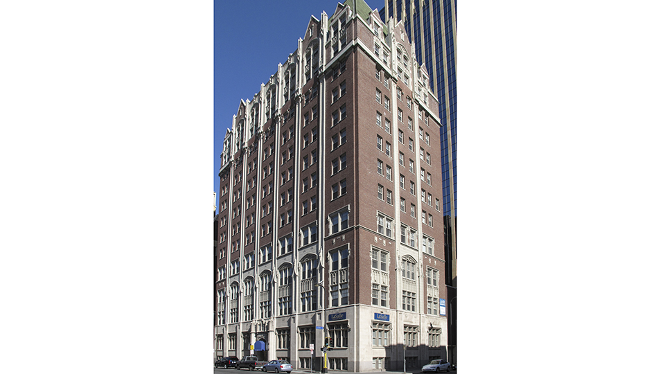 LaSalle Apartments, formerly Minneapolis Central YMCA history