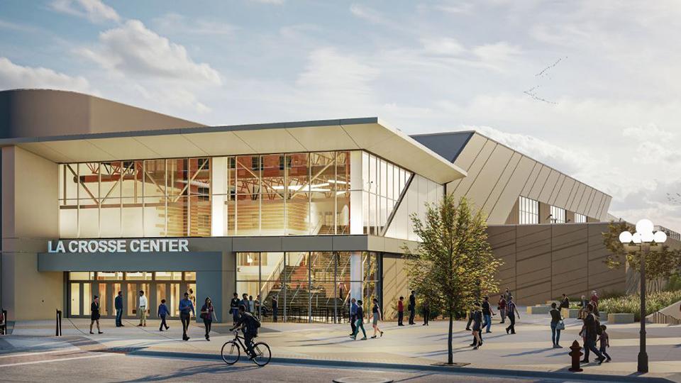 Rendering of LaCrosse Center