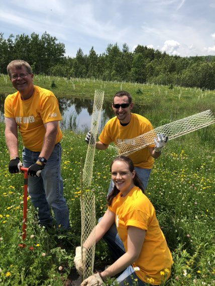 United Way Gardening in Our Community