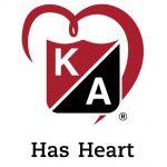 KA Has Heart logo