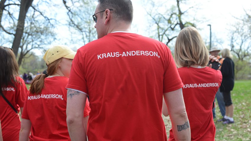 KA Has Heart participants at MSWalk