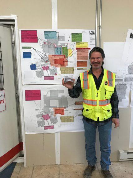 Project Superintendent Joe Yerbich, KA Core Values Award winner for March 2020