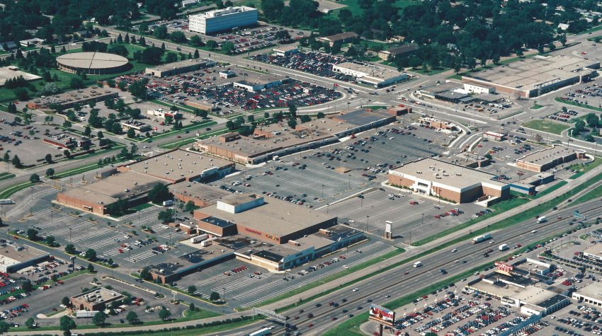 aerial view Southtown 1997. Southtown 60 years