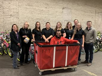 Toys for Tots Group in 2018